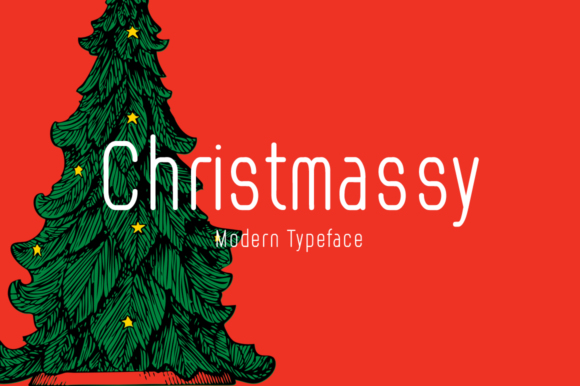 Print on Demand: Christmassy Display Font By Imposing Fonts
