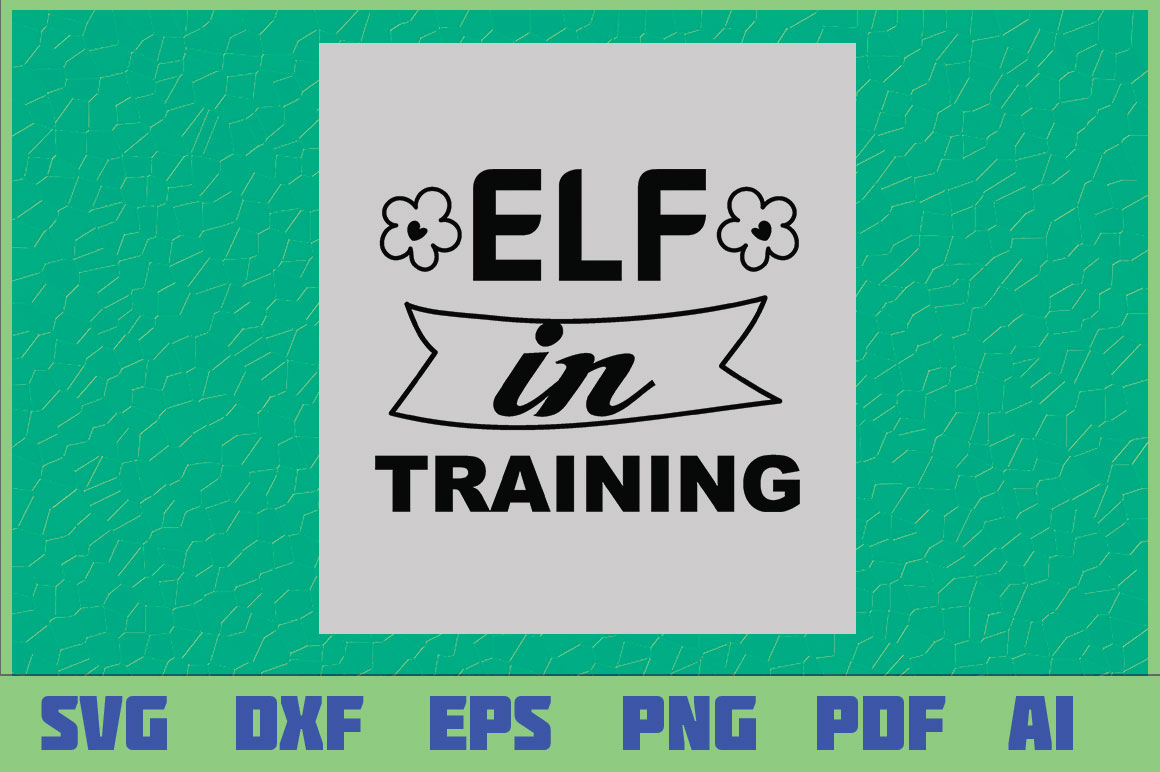 Download Free Elf In Training Graphic By Sajidmajid441 Creative Fabrica for Cricut Explore, Silhouette and other cutting machines.