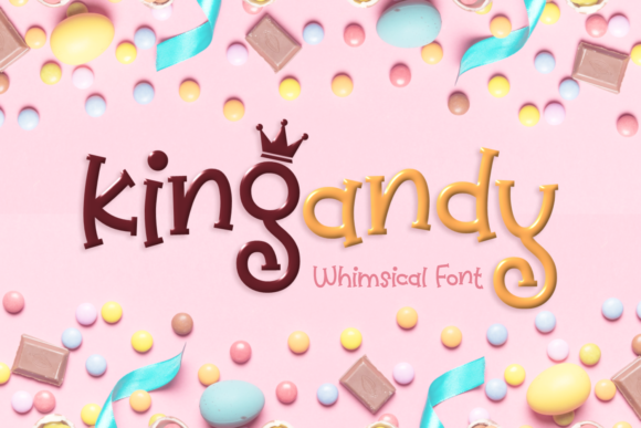 Print on Demand: Kingandy Display Font By Situjuh - Image 1