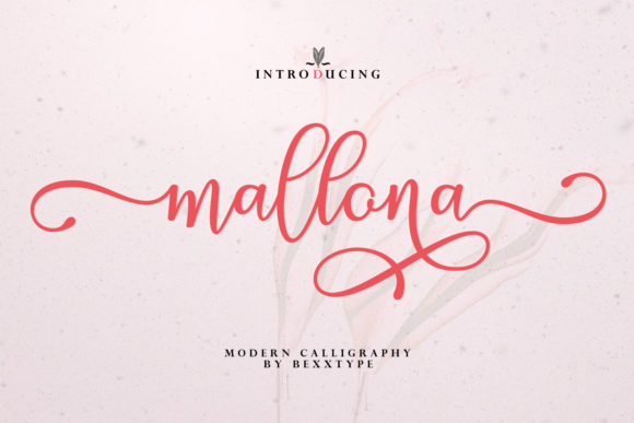 Print on Demand: Mallona Script & Handwritten Font By Bexx Type - Image 1