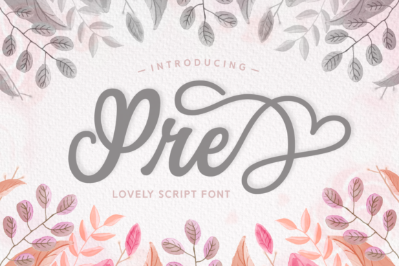 Print on Demand: Pre Script & Handwritten Font By Situjuh