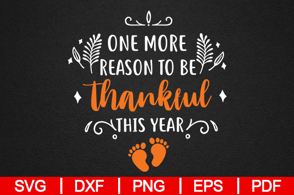 Download Free Womens Thanksgiving Pregnancy Announcement Graphic By for Cricut Explore, Silhouette and other cutting machines.