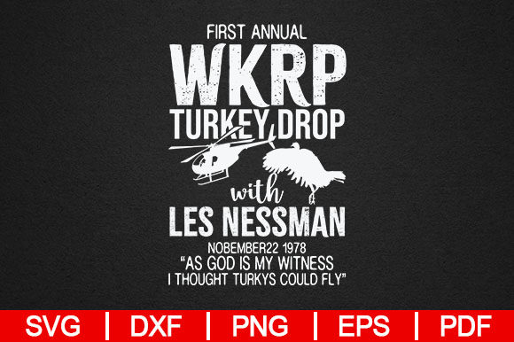 Download Free First Annual Wkrp Graphic By Artistcreativedesign Creative Fabrica for Cricut Explore, Silhouette and other cutting machines.