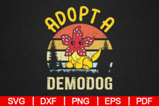 Download Free Adopt A Demodog Graphic By Artistcreativedesign Creative Fabrica for Cricut Explore, Silhouette and other cutting machines.