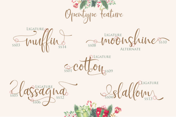 Print on Demand: Sigoda Script & Handwritten Font By Gilar Studio - Image 5