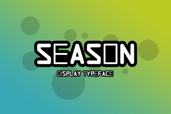 Print on Demand: Season Display Font By Instagram Fonts