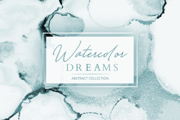 Watercolor + Ink Abstract Backgrounds Graphic By artisssticcc