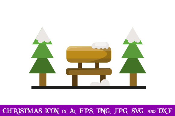 Download Free Park Christmas Icon Grafico Por Purplespoonpirates Creative for Cricut Explore, Silhouette and other cutting machines.