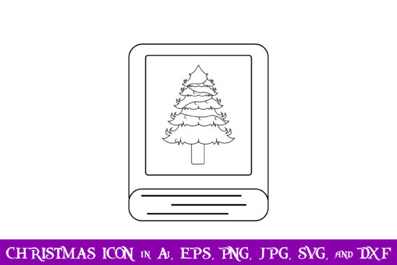 Download Free Book Christmas Icon Graphic By Purplespoonpirates Creative Fabrica for Cricut Explore, Silhouette and other cutting machines.