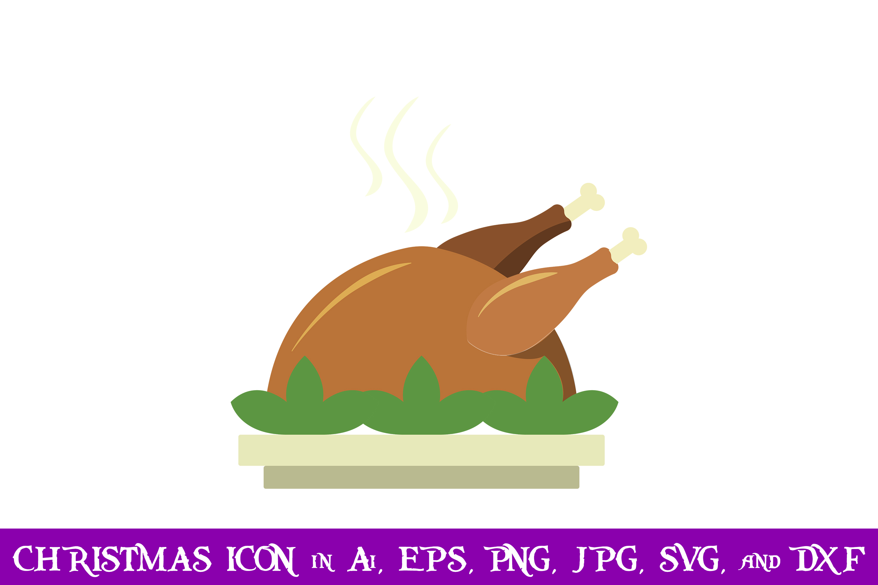Download Free Food Christmas Icon Graphic By Purplespoonpirates Creative Fabrica for Cricut Explore, Silhouette and other cutting machines.