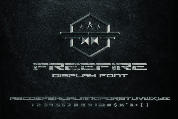 Print on Demand: Free Fire Display Font By Herulogo