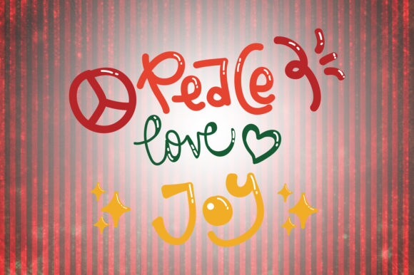 Download Free Peace Love Joy Christmas Quotes Graphic By Wienscollection Creative Fabrica SVG Cut Files