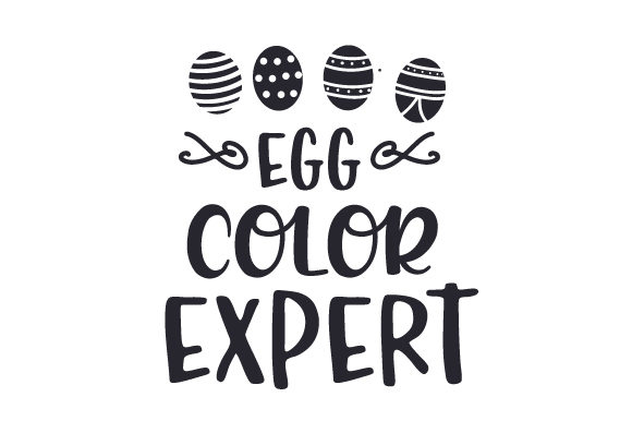 Egg Color Expert Easter Craft Cut File By Creative Fabrica Crafts