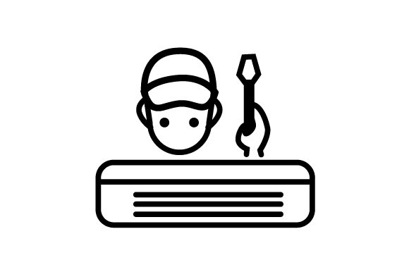 Download Free Hvac Icon Repair Man Svg Cut File By Creative Fabrica Crafts for Cricut Explore, Silhouette and other cutting machines.