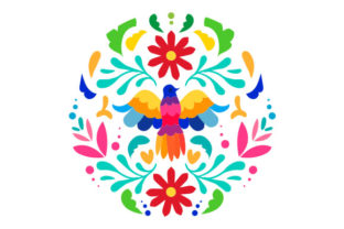 Otomí Design Mexico Craft Cut File By Creative Fabrica Crafts
