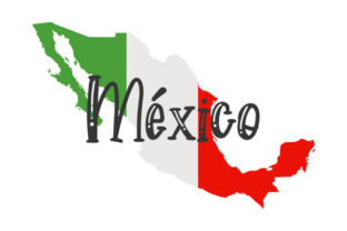 Mexican Map Mexico Craft Cut File By Creative Fabrica Crafts