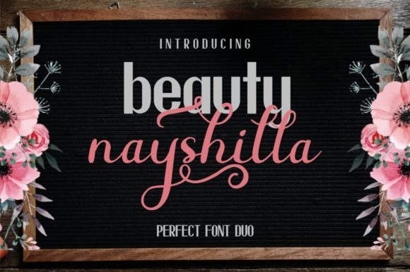 Print on Demand: 8 Luxurious Script Fonts Font By MJB Letters - Image 3