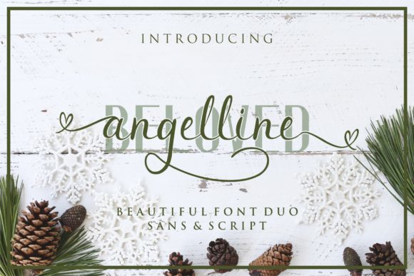 Print on Demand: 8 Luxurious Script Fonts Font By MJB Letters - Image 4