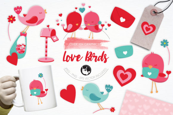 Print on Demand: 10 Adorably Cute Graphic Bundles Graphic By Prettygrafik - Image 3