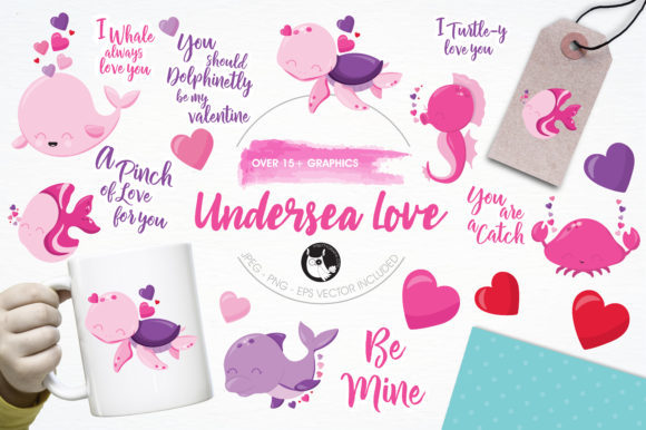 Print on Demand: 10 Adorably Cute Graphic Bundles Graphic By Prettygrafik - Image 8