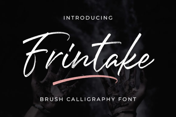 Print on Demand: Frintake Script & Handwritten Font By Bangkit Setiadi