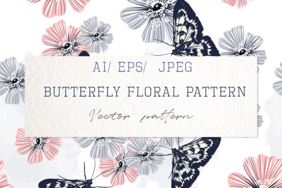 Download Free Floral Pattern With Swirls For Design Graphic By Fleurartmariia for Cricut Explore, Silhouette and other cutting machines.