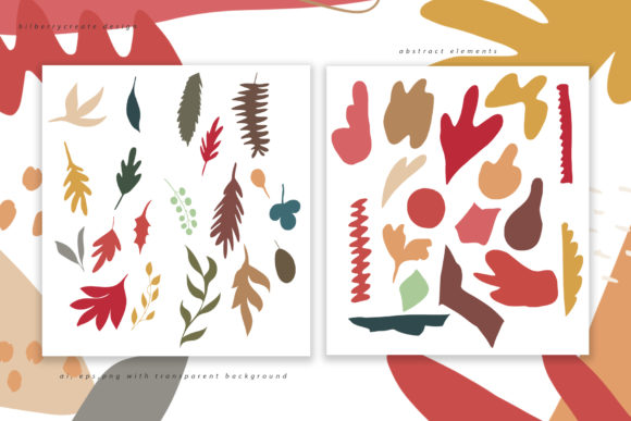 Autumn Colored Graphic Illustrations By BilberryCreate - Image 11