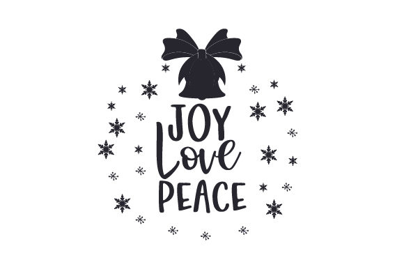 Download Free Joy Love Peace Svg Cut File By Creative Fabrica Crafts Creative Fabrica for Cricut Explore, Silhouette and other cutting machines.