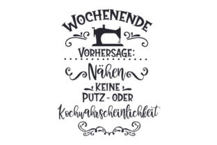 Wochenende Vorhersage: Nähen Germany Craft Cut File By Creative Fabrica Crafts