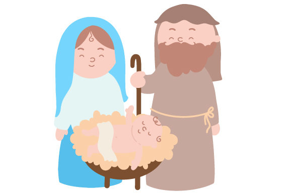 Download Free Nativity Svg Cut File By Creative Fabrica Crafts Creative Fabrica for Cricut Explore, Silhouette and other cutting machines.