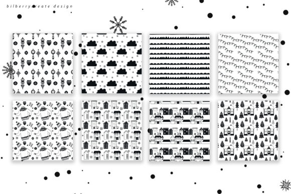 Scandinavian Christmas Collection Graphic Illustrations By BilberryCreate - Image 9