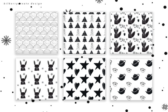 Scandinavian Christmas Collection Graphic Illustrations By BilberryCreate - Image 8