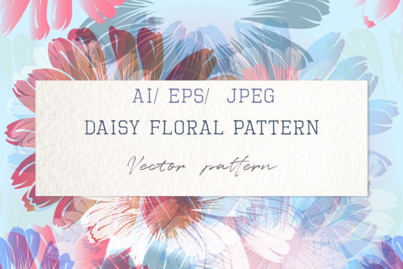 Pattern with Vector Hand Drawn Flowers Graphic Patterns By fleurartmariia