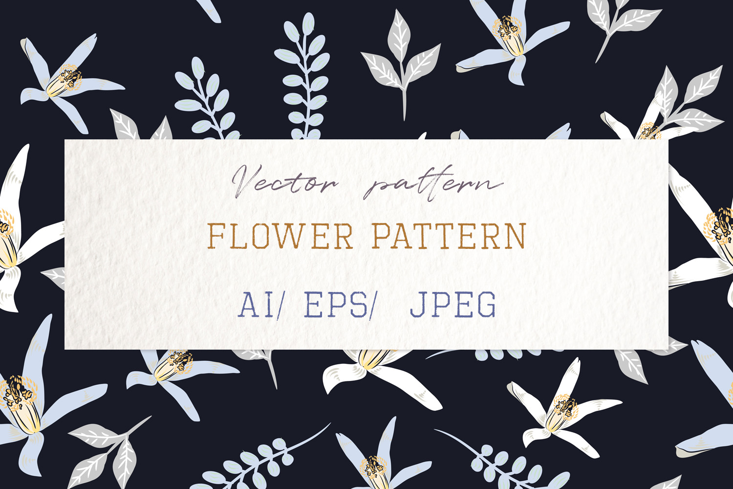 Download Free Fabric Pattern Or Background With Flowe Graphic By for Cricut Explore, Silhouette and other cutting machines.