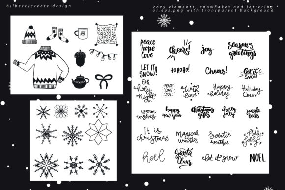 Scandinavian Christmas Collection Graphic Illustrations By BilberryCreate - Image 5