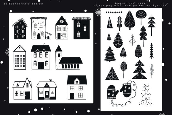 Scandinavian Christmas Collection Graphic Illustrations By BilberryCreate - Image 4