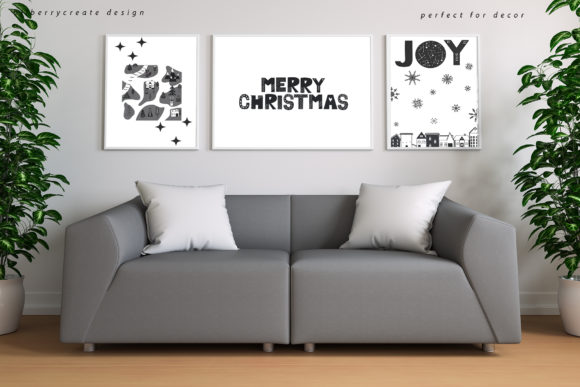 Scandinavian Christmas Collection Graphic Illustrations By BilberryCreate - Image 2