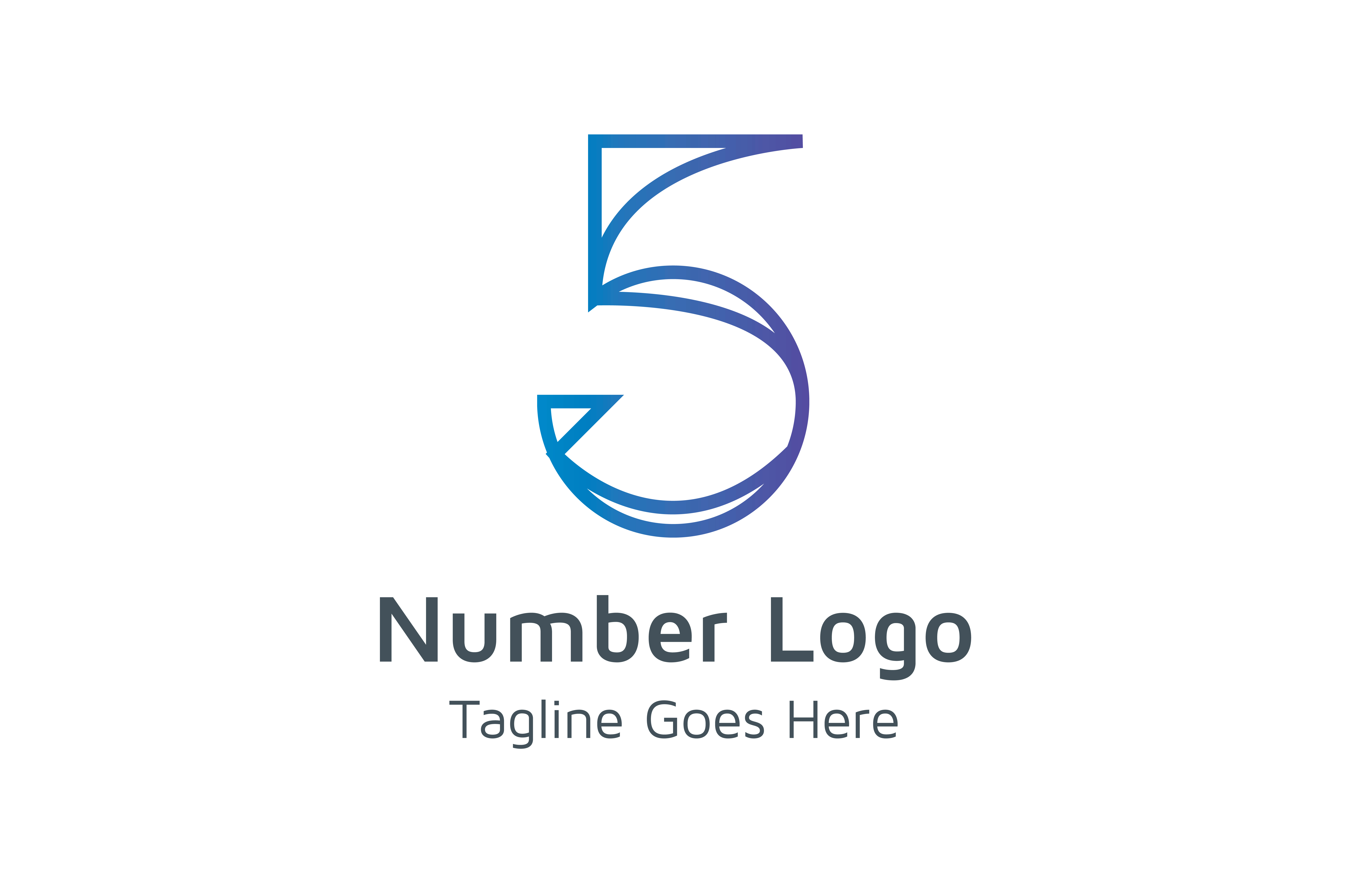 Download Free Number 5 Logo Graphic By Thehero Creative Fabrica for Cricut Explore, Silhouette and other cutting machines.
