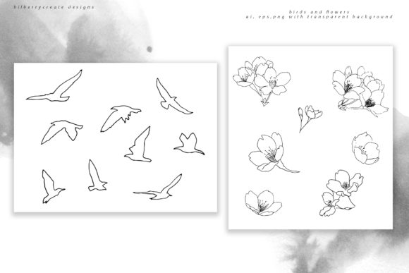 La Tendresse Graphic Illustrations By BilberryCreate - Image 7