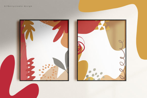 Autumn Colored Graphic Illustrations By BilberryCreate - Image 9