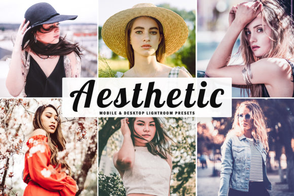 Print on Demand: Aesthetic Lightroom Presets Pack Graphic Actions & Presets By Creative Tacos