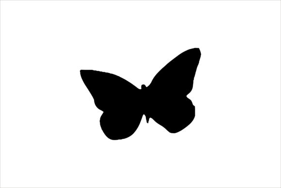 Butterfly Silhouette Graphic Icons By Artsolidesign