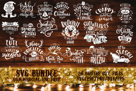 7 Fun Quote Bundles Graphic By SVG Story - Image 1