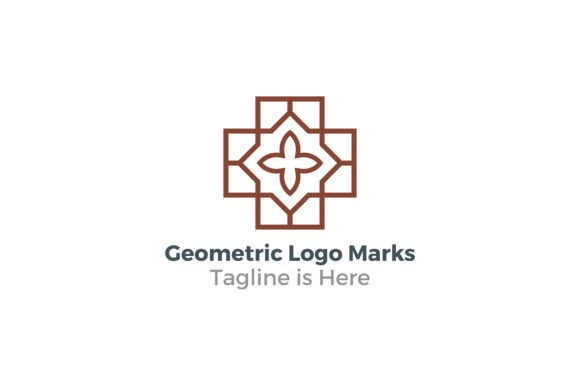 Geometric Logo Marks Graphic By Acongraphic