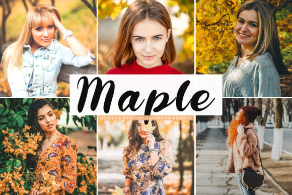 Maple Lightroom Presets Pack Graphic Actions & Presets By Creative Tacos
