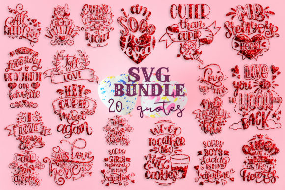 7 Fun Quote Bundles Graphic By SVG Story - Image 6