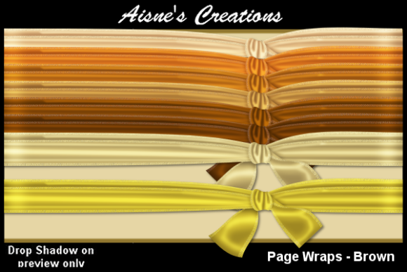 Print on Demand: Page Wraps - Brown Gráfico Objetos Por Aisne