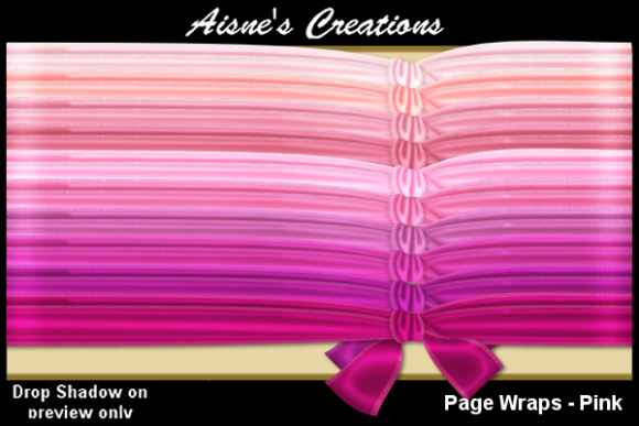 Print on Demand: Page Wraps - Pink Graphic Objects By Aisne