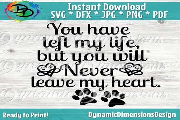 Dog Memorial Graphic Crafts By dynamicdimensions