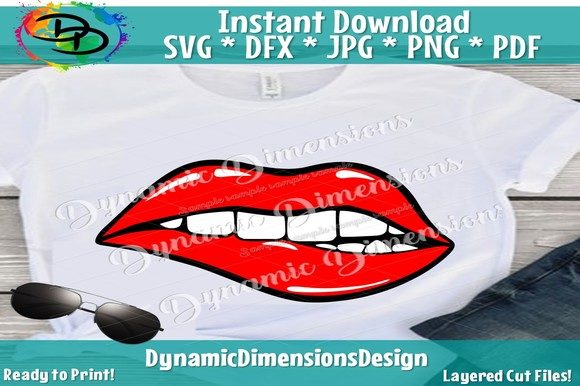 Download Lips Silhouette Kiss Dripping